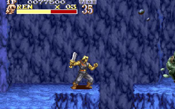 The Pirates of Dark Water Sunsoft Super Nintendo SNES Beat'em up Xtreme Retro 7