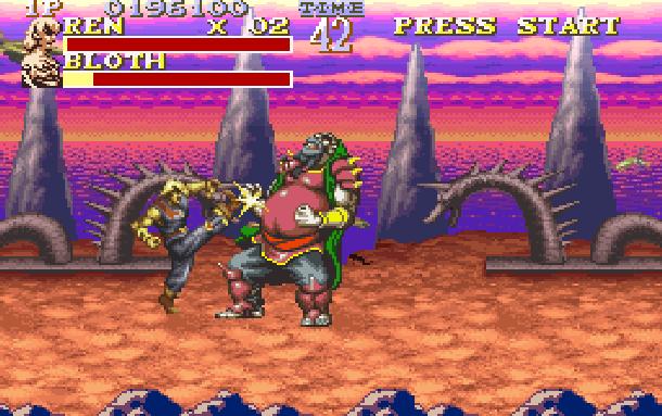The Pirates of Dark Water Sunsoft Super Nintendo SNES Beat'em up Xtreme Retro 8