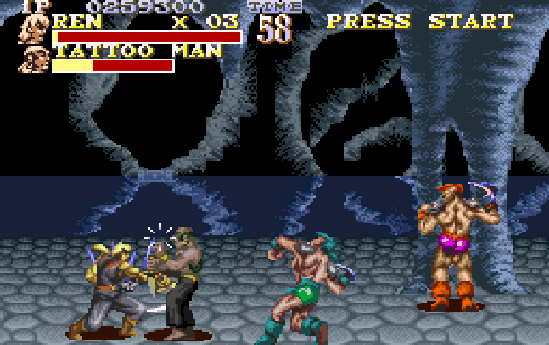 The Pirates of Dark Water Sunsoft Super Nintendo SNES Beat'em up Xtreme Retro 9