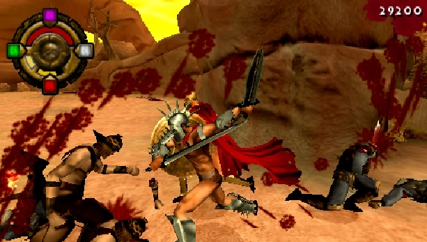 300-march-to-glory-eidos-interactive-collision-studios-sony-playstation-portable-psp-hack-and-slash-xtreme-retro-6