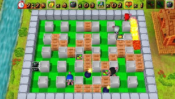 bomberman-hudson-soft-sony-playstation-portable-psp-action-puzzle-xtreme-retro-1