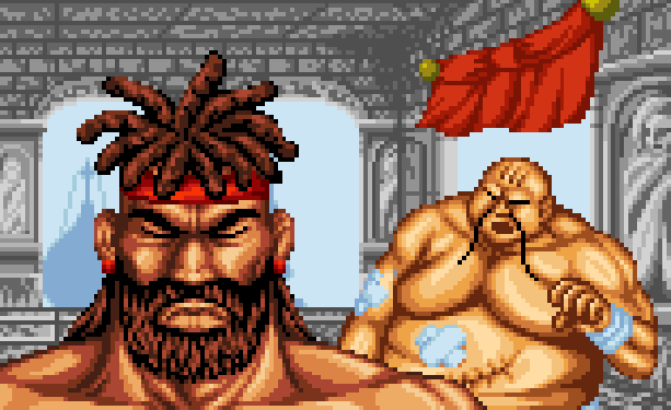 karnovs-revenge-fighters-history-data-east-arcade-coin-op-neo-geo-cd-sega-saturn-pixel-art-xtreme-retro