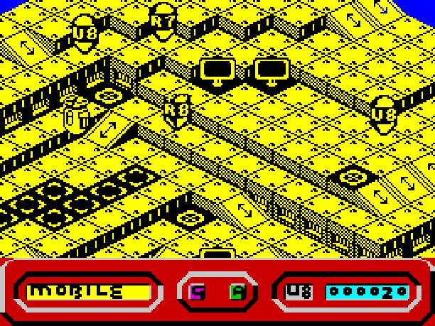 2-quazatron-erbe-software-graftgold-creative-1986-zx-spectrum-action-isometric-shooter-sci-fi-futuristic-xtreme-retro