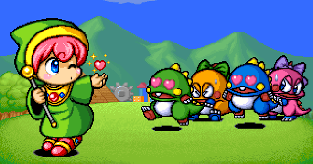 bubble-symphony-bubble-bobble-ii-arcade-coin-op-sega-saturn-taito-corporation-1994-platform-pixel-art-xtreme-retro