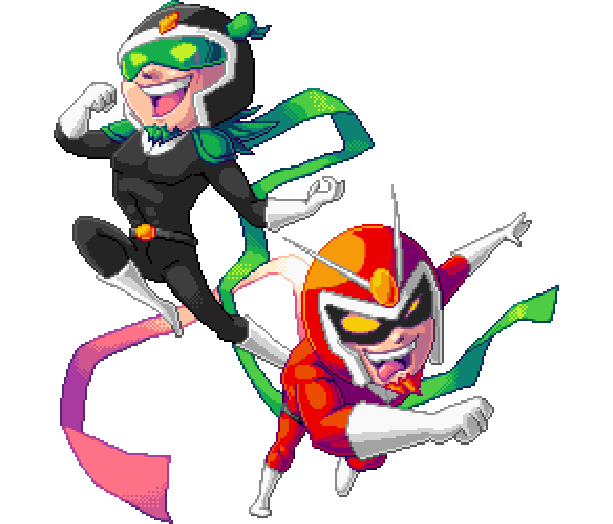 viewtiful-joe-red-hot-rumble-capcom-nintendo-gamecube-gc-sony-playstation-portable-psp-fighting-pixel-art-xtreme-retro