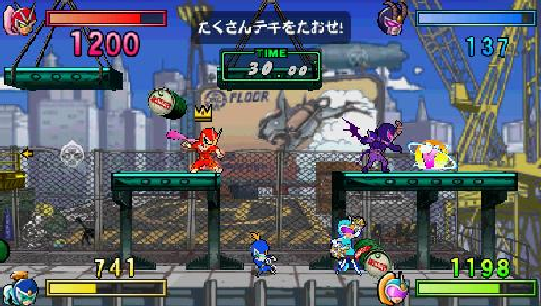 viewtiful-joe-red-hot-rumble-capcom-nintendo-gamecube-gc-sony-playstation-portable-psp-fighting-xtreme-retro-1
