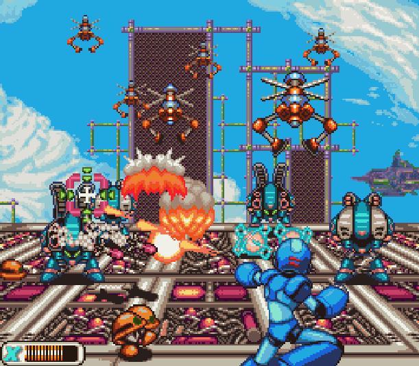 megaman-rockman-x-capcom-keiji-inafume-super-nintendo-snes-action-platform-storm-eagle-stage-pixel-art-xtreme-retro