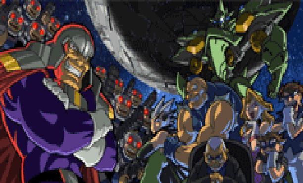 rapid-reload-gunners-heaven-mega-vision-1995-shootem-up-sony-playstation-psx-psone-pixel-art-xtreme-retro