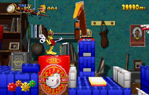 Aujourd'hui j'ai branché ma saturn et j'ai joué à.... - Page 16 Clockwork-Knight-Pepperouchaus-Adventure-1995-Sega-Saturn-Platform-Xtreme-Retro-12