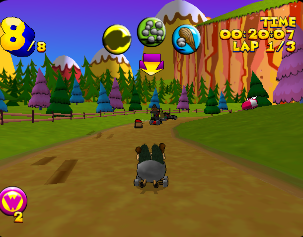 Wacky Races Sega Dreamcast Infogrames Xtreme Retro