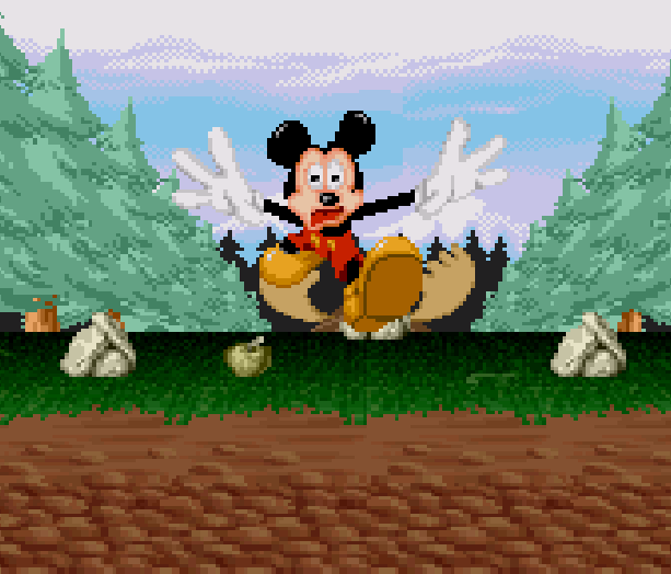 Mickey Mania Super Nintendo Mega Drive Sega Mega CD Sony