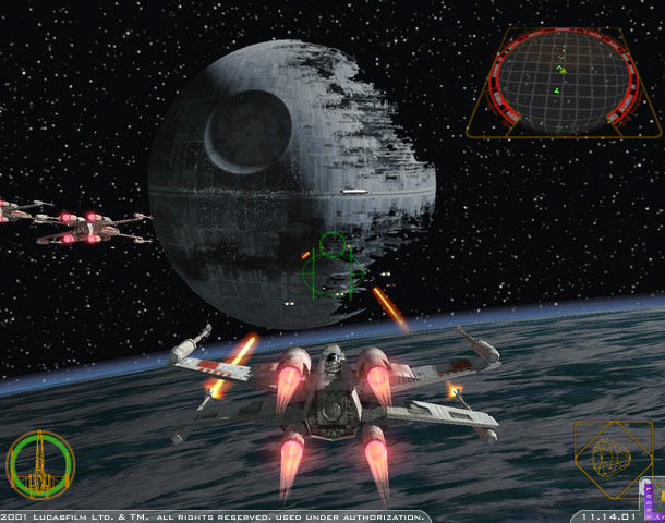 Star Wars Rogue Squadron II Rogue Leader LucasArts Factor 5 2001 ...