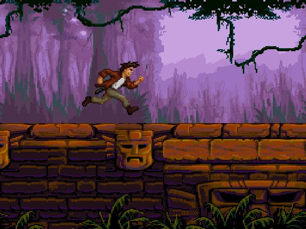 Pitfall The Mayan Adventure Activision 1994 Sega Genesis