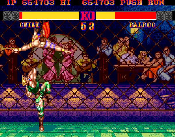 1 Street Fighter Ii Arcade Capcom Vega Stage Spain Xtreme Retro
