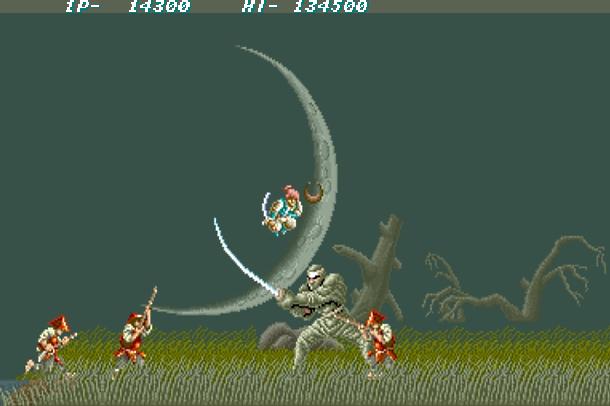 Videojuegos V1.3  - Página 10 Ninja-Spirit-Irem-Corporation-Arcade-Boss-Xtreme-Retro